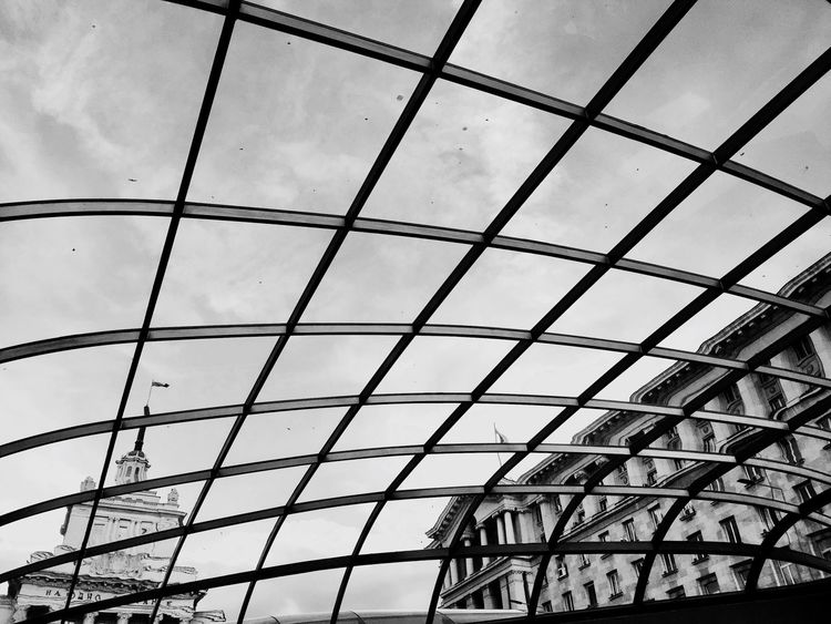Low Angle View Architecture Built Structure No People Day Indoors  Modern Sky EyeEm Selects