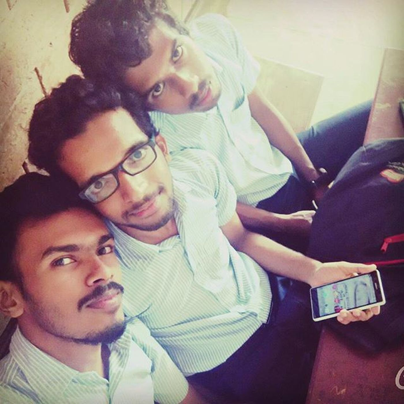 Friends .... They are one's most priced possessions.... <3 Classroomselfie Backbencher