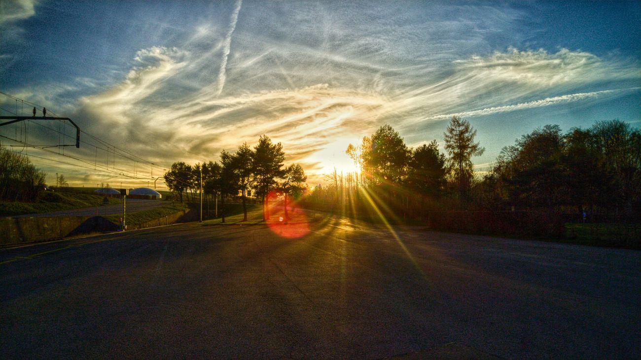 Autumn Sunset HDR Switzerland Bure Jura Lgg4photography