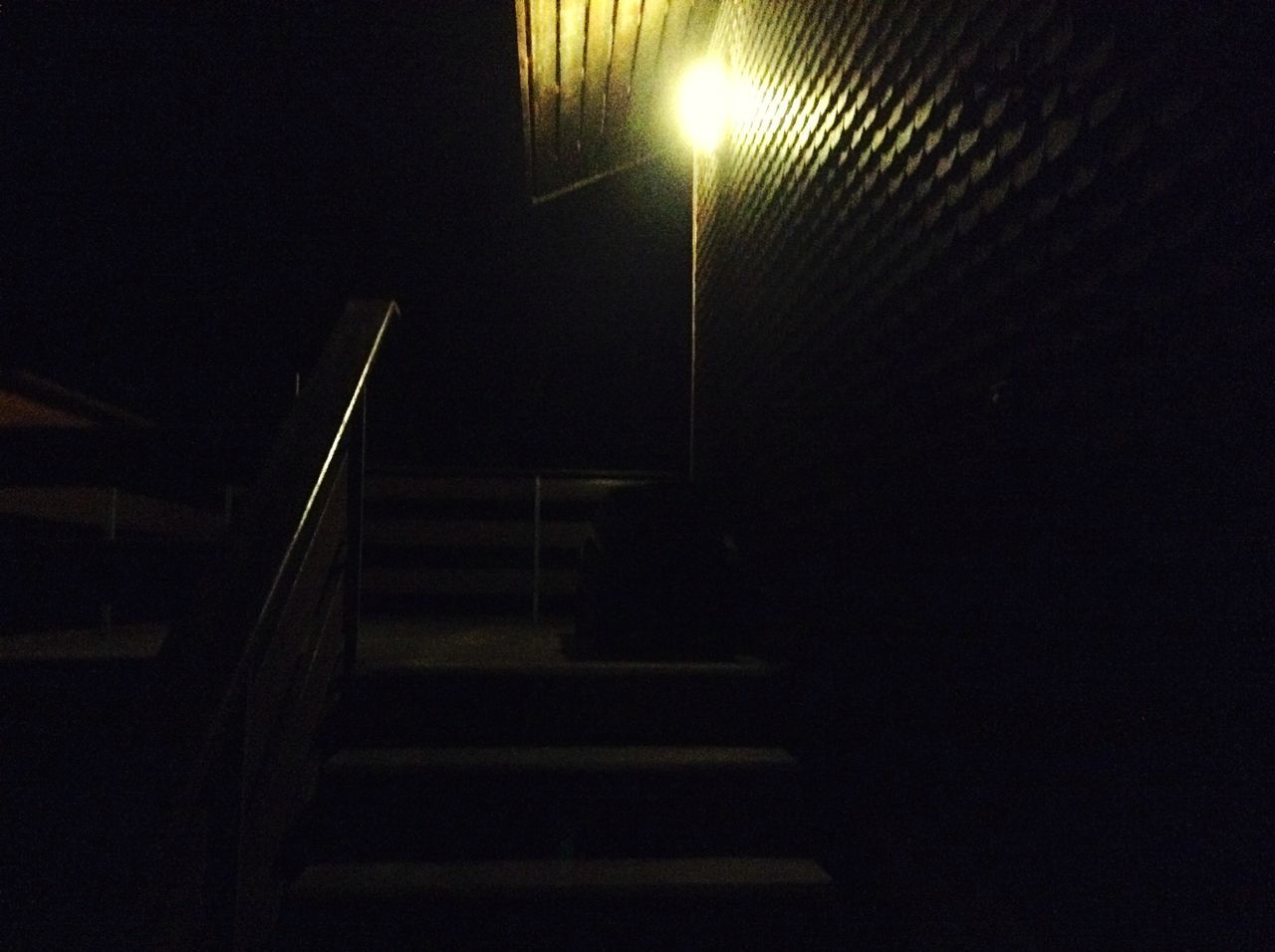 Dark Light And Shadow Night Lights Light Steps Stairs Nightphotography Night House