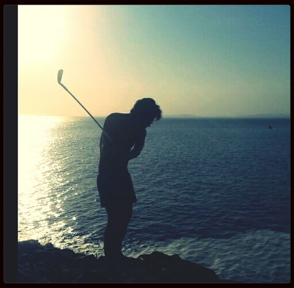 know no boundariesHanging Out Silhouette Golf! Playing Golf