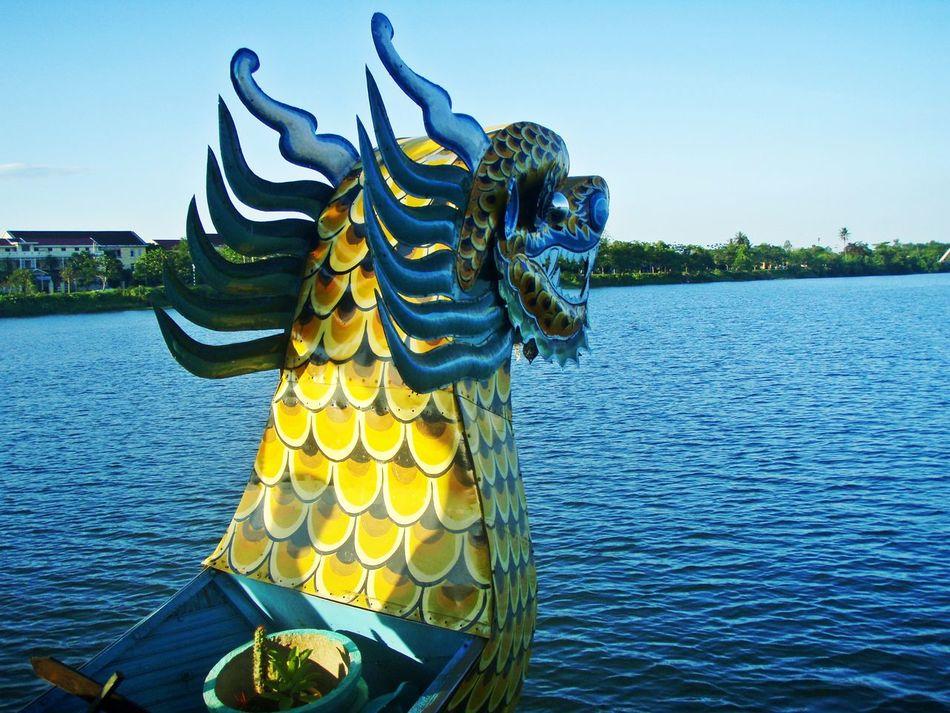 Beautiful stock photos of dragon, Animal Representation, Art, Blue, Boat