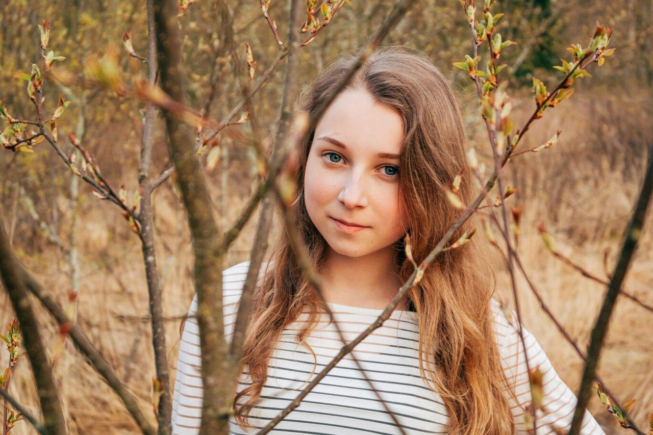 Portrait Color Portrait Girl Smile
