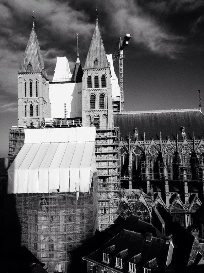 Taking Photos Belgium♡ EyeEm Best Shots Iphonephotography Cold Days Cathedral Tournai