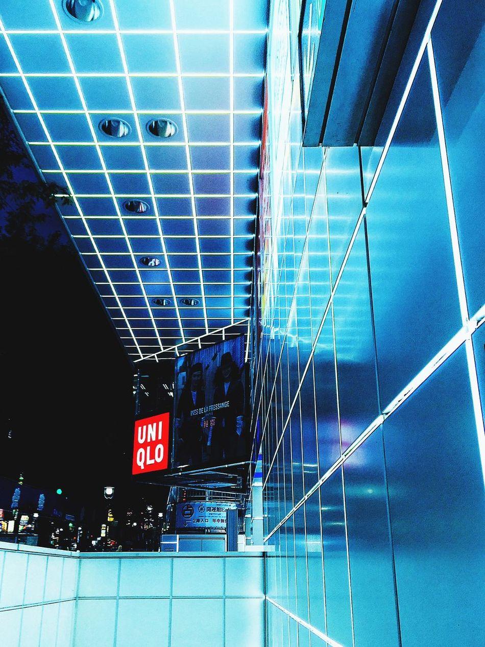 Shibuya Awesome Performance Relaxing Walking Around サボリチュウ Enjoying Life 幾何学部 UNICRO OpenEdit Nightphotography