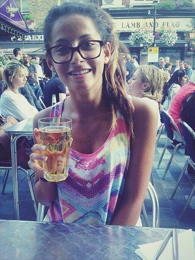 Drinking Beer London