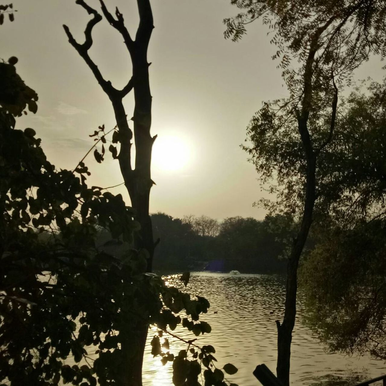 Hauzkhasvillage Delhi India Sunset