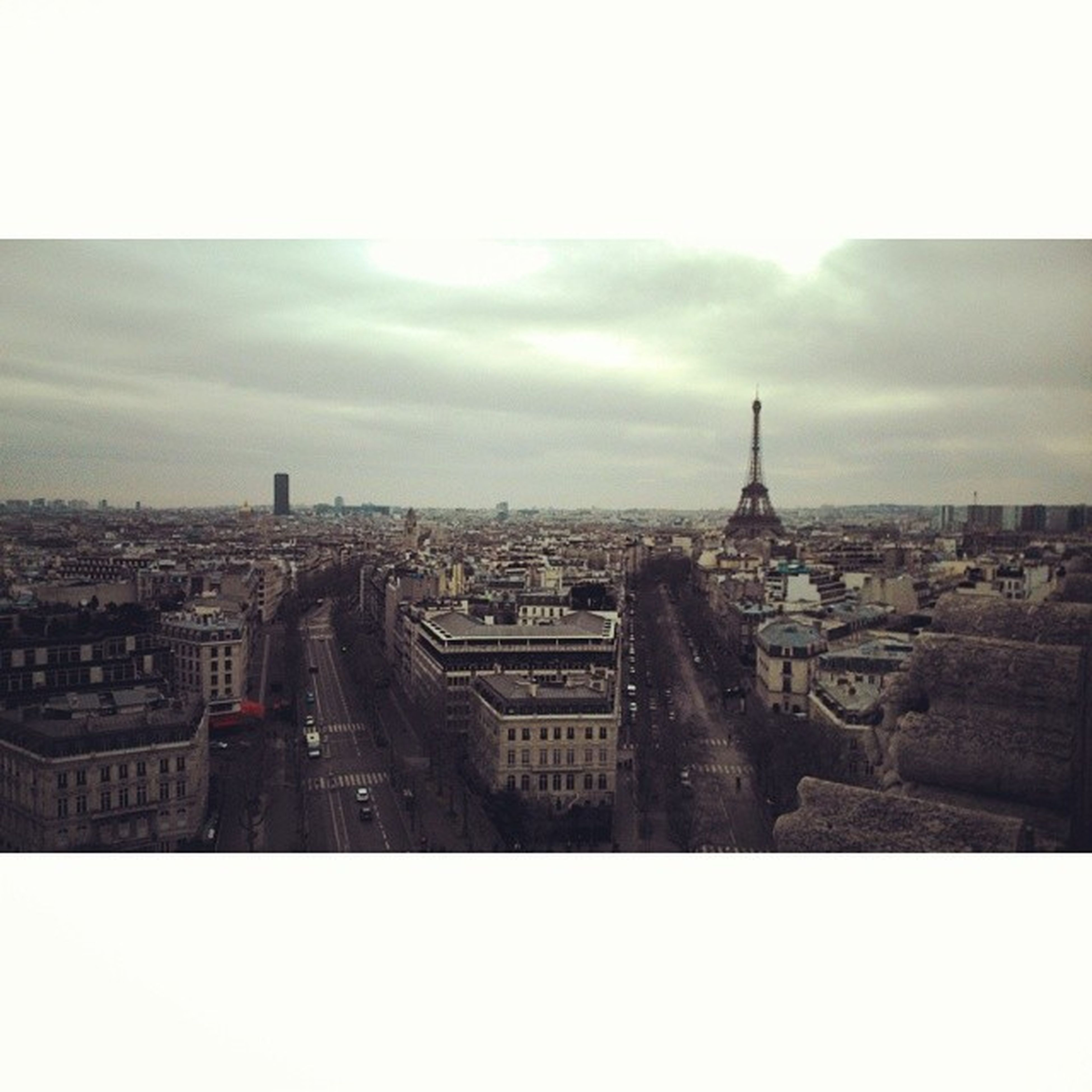 Y a pas mieux comme vue ! Arcdetriomphe Paris Beautiful Roidumonde