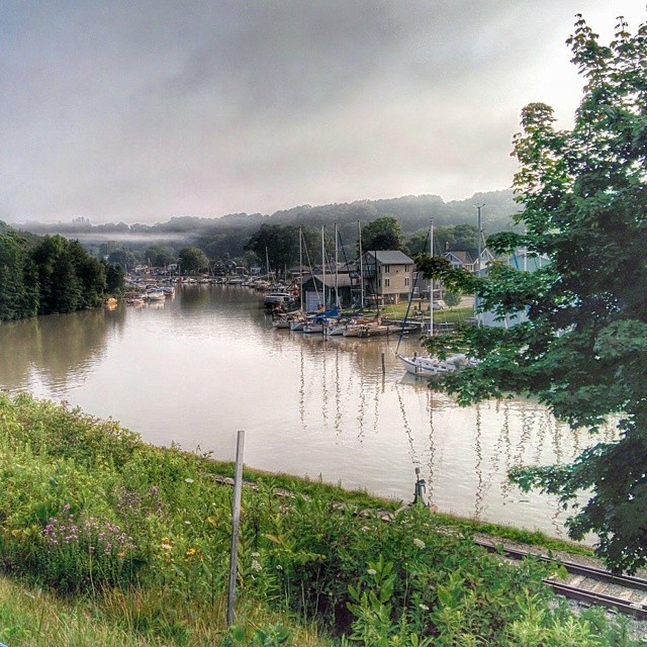 Kettle Creek, near Port Stanley. Kettle Creek Port Stanley Ontario Canada