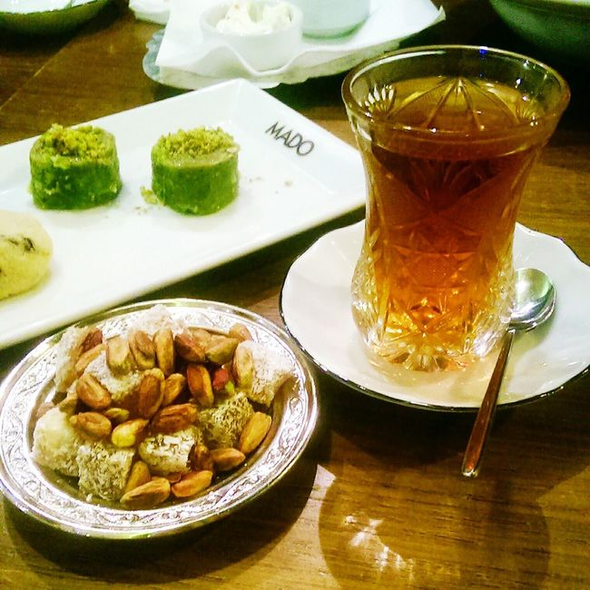 Sweet time Turkish Delight Turkish Baklava Turkish Tea Mado