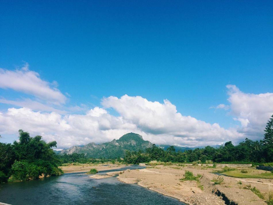 Gunung Sembilan di desa Taniwel, Seram Bagian Barat, Pulau Seram, Maluku - Indonesia IPhoneography Vscocam
