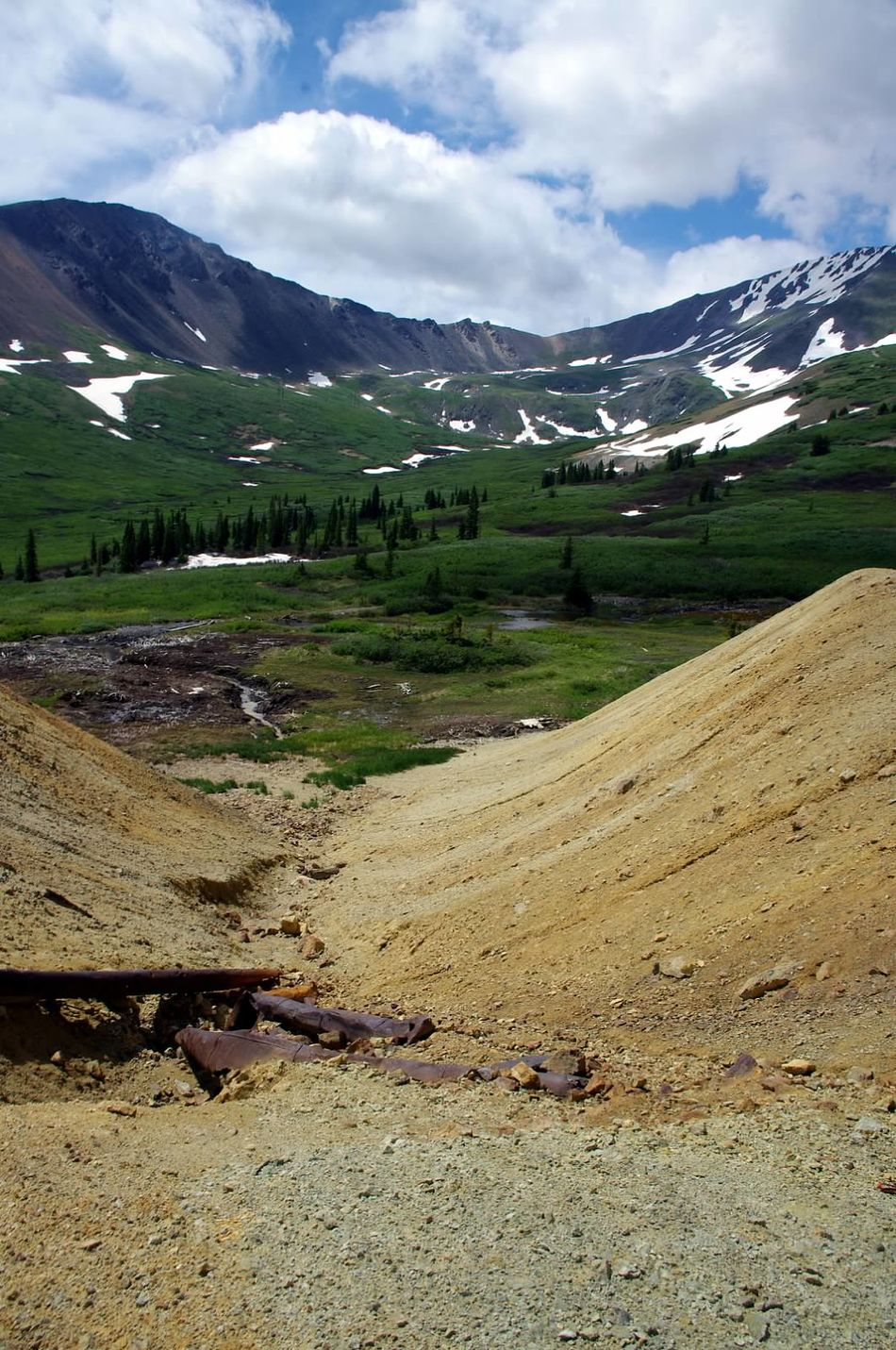Mountain Landscape Snow Colorado Colorado Photography Mining History Of America Mining Heritage Argentine Pass Santiago Mine