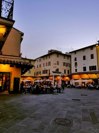 La Sala Architecture Building Exterior City Street Built Structure Outdoors City Sky Day No People Cityscape Pistoia Night City Toscana Old Town Cityscape