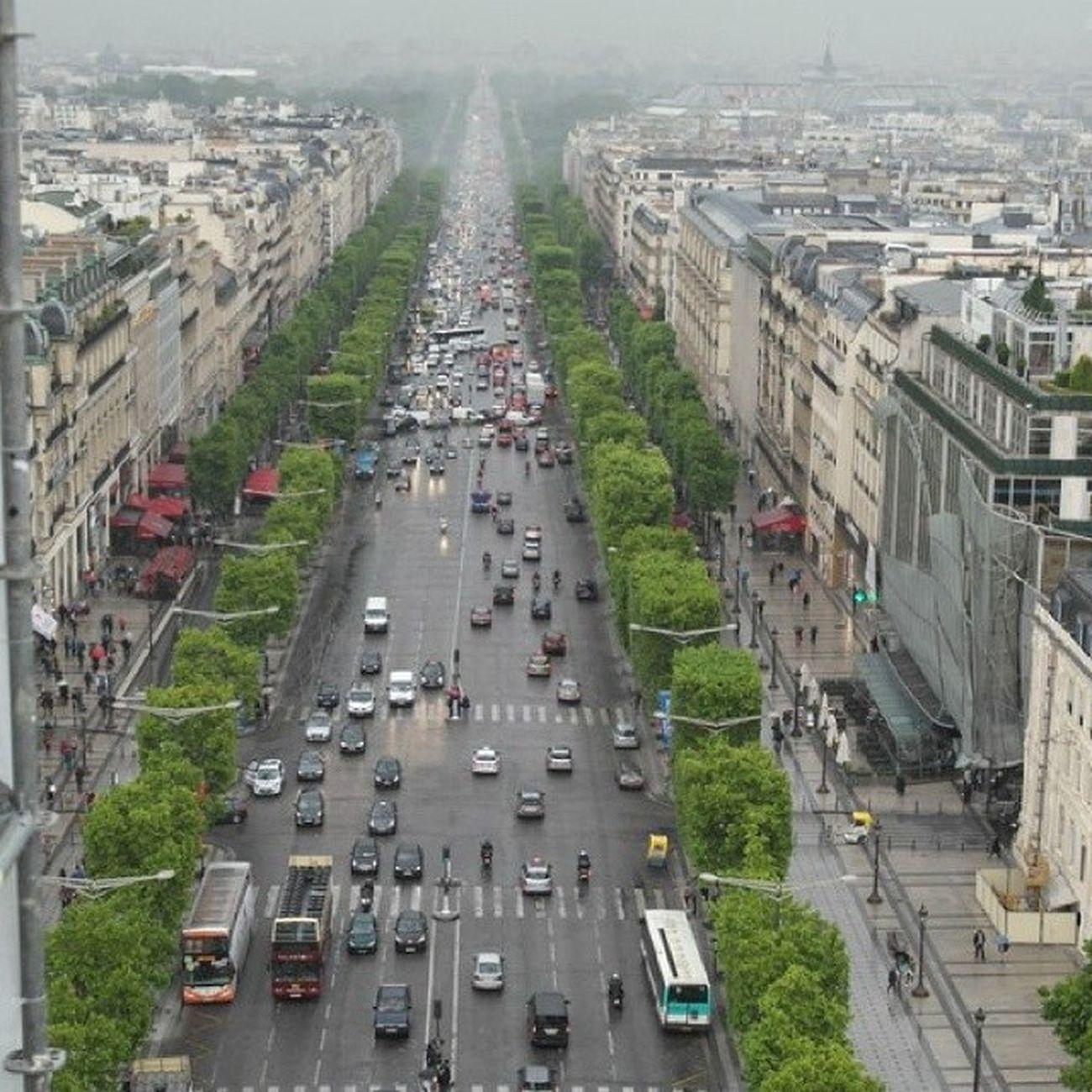 Paris France Champselysées Travel by M.Silin