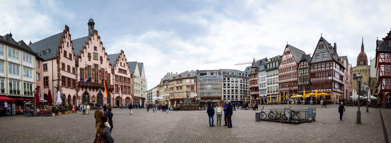 Architecture Outdoors City Frankfurt Frankfurt Am Main Europe Europe Trip Nikon Panorama Panoramic Panoramic Photography Pano Panorámica