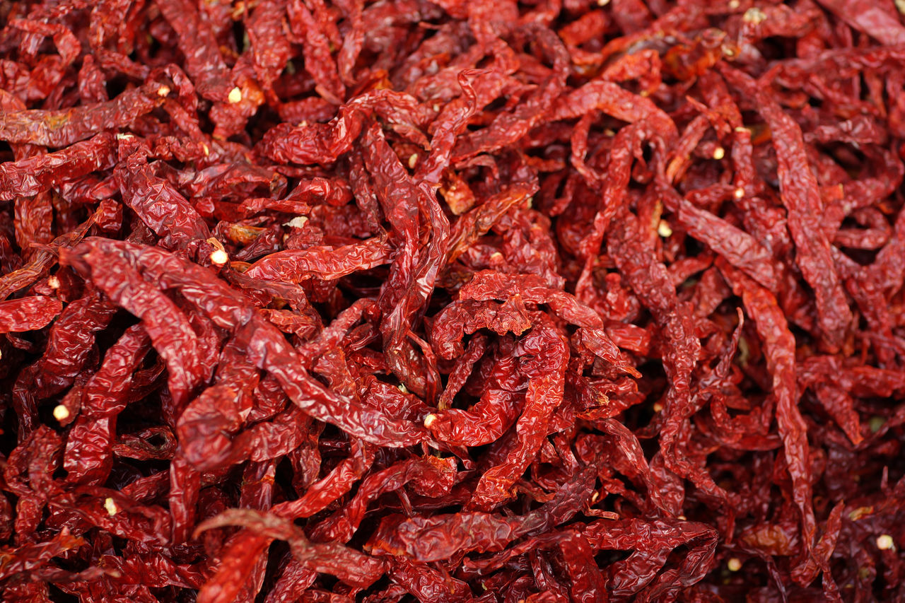 Background Chili Pepper Chilies Close-up Cooking Ingredient Dry Chili Food Freshness Pattern Pattern, Texture, Shape And Form Patterns In Nature Ready-to-eat Red Red Spicy