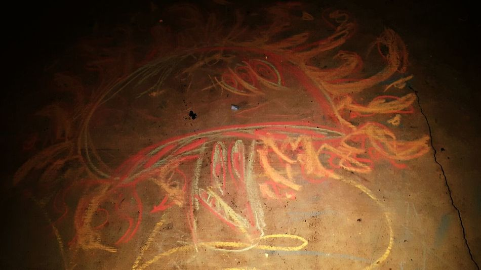 Check This Out Street Art Shroom Colorful Chalk Art Ididit Drunk Moments