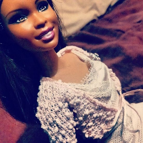 She Has A New Outfit ^•^ She Looks Amazing :D Hehehe NewOutfit Barbiedoll Barbie