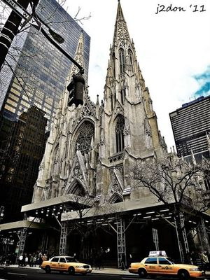 Taking Photos at St. Patrick's Cathedral by junjun donesa