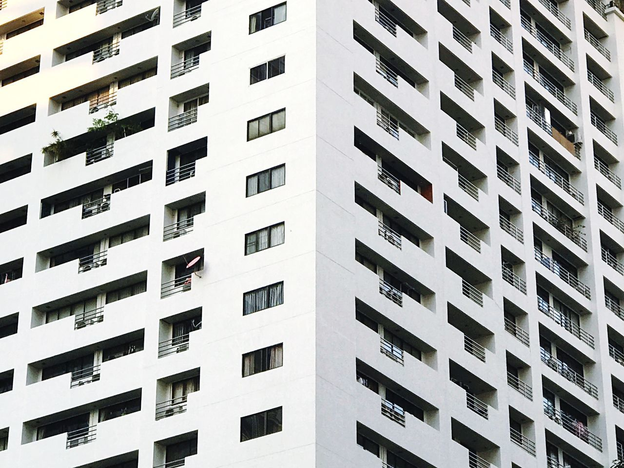Building Exterior Architecture Built Structure Window Apartment City Repetition Residential Building Outdoors Low Angle View Day No People Balcony Skyscraper Architecture Low Angle View Minimalist Architecture Buildingstyles
