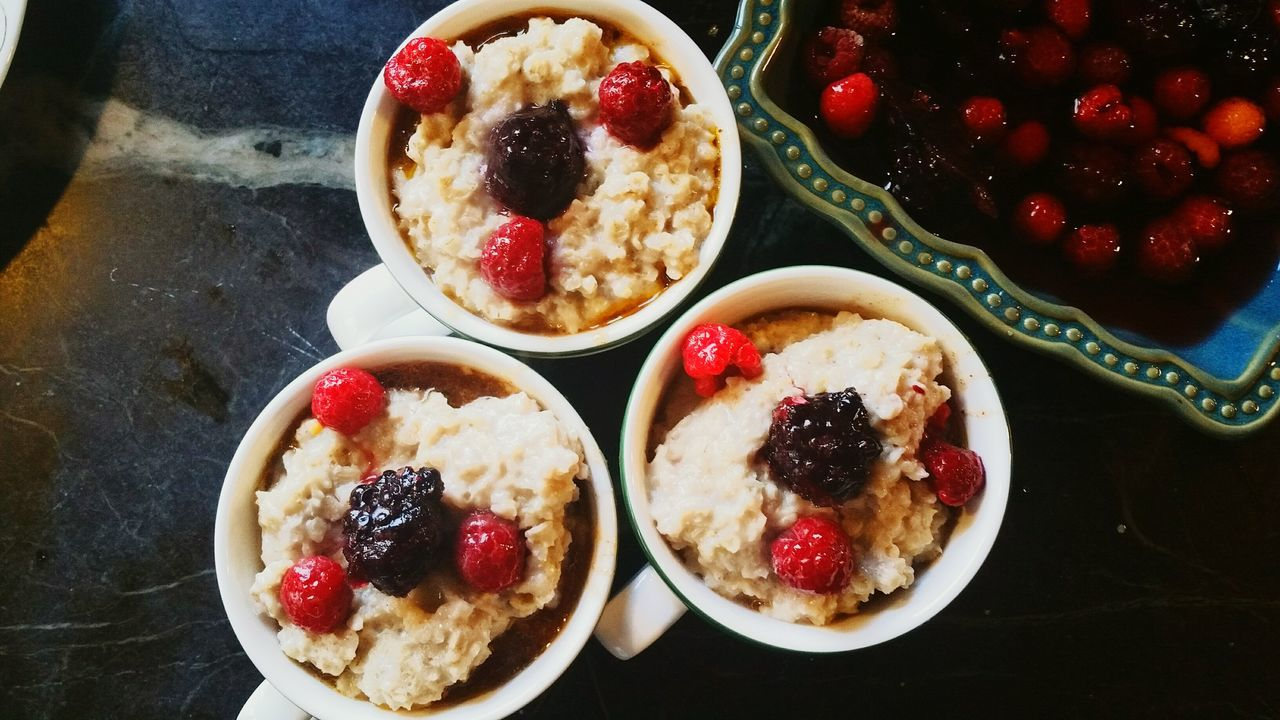 Butternut Squash Marshmallow Delight with Irish Oatmeal topping. ButternutSquash Irishoatmeal Marshmallow Dessert Fruit Toppings Fruitcup Breakfast Healthy My World Of Food