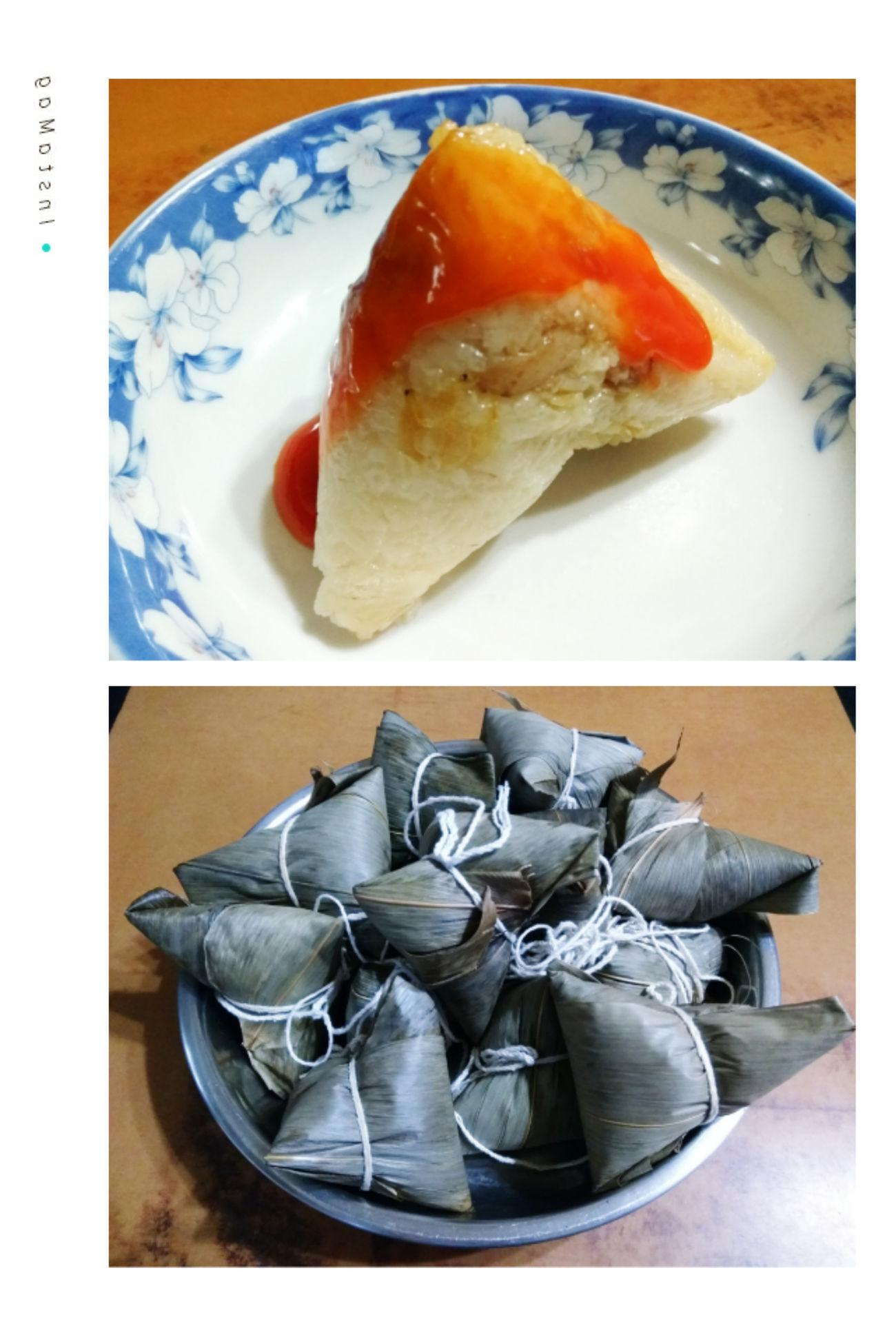 是家母手工製作的唷!肉粽節快樂~~ 端午節 肉粽節 粽子節 中華ちまき ローツォン バーツァン ちまき 쫑즈를 Rice Dumpling Handmade