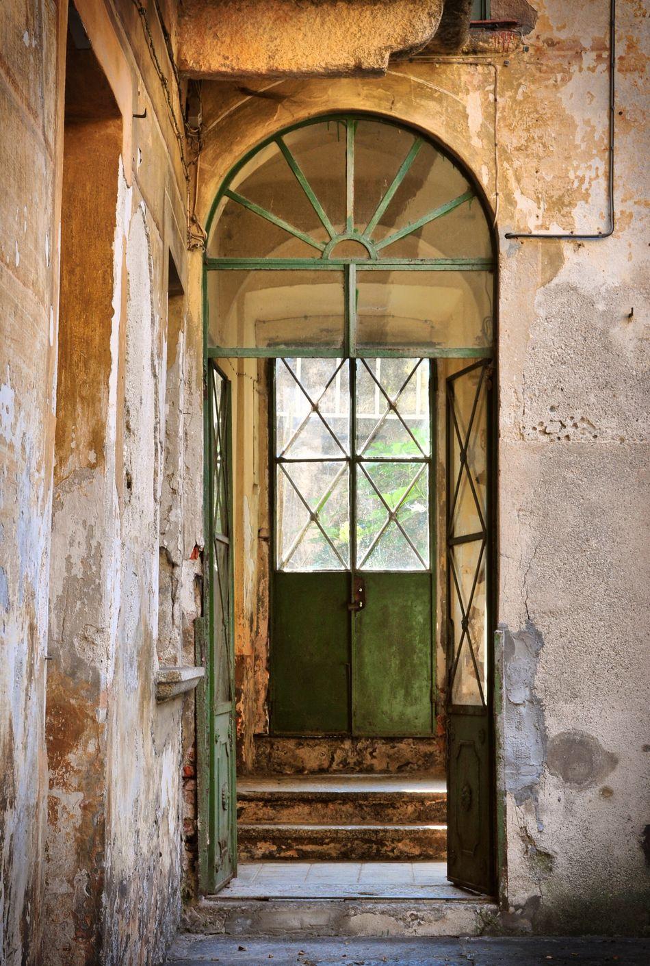 Door Doors Ancient Ancient Architecture Ancient Door Orta San Giulio Orta Lake Italy Green Door Green Doors