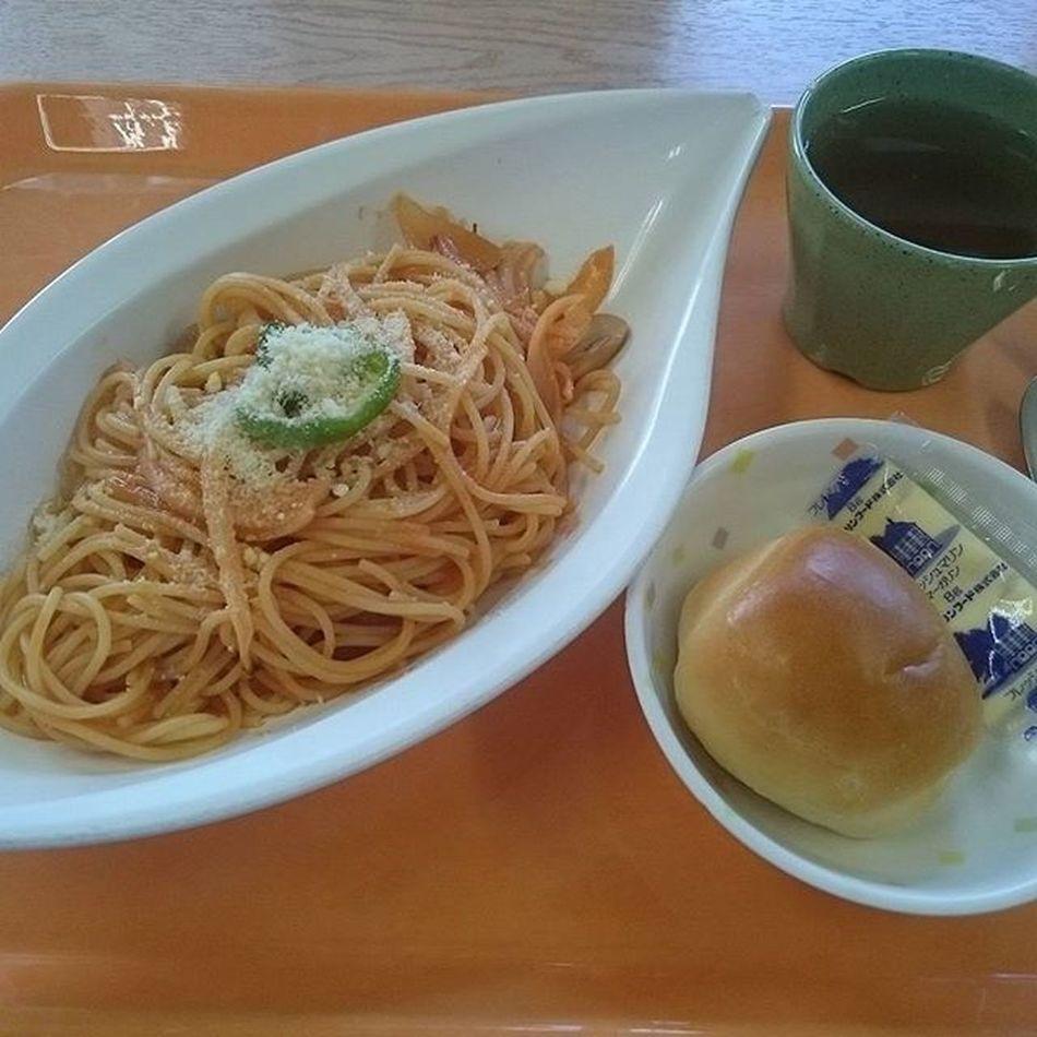 今日の社食~ ナポリタン(400円) 社食シリーズ いよ J社食シリーズ