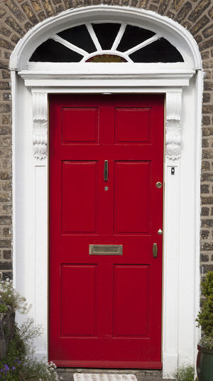 Dublin Individuality Ireland Old Fashioned Resistance  Wood Architecture Building Exterior Built Structure Civil Day District Door English Entrance Gregorian Historical Law Medieval Neighborhood No People Outdoors Red Series