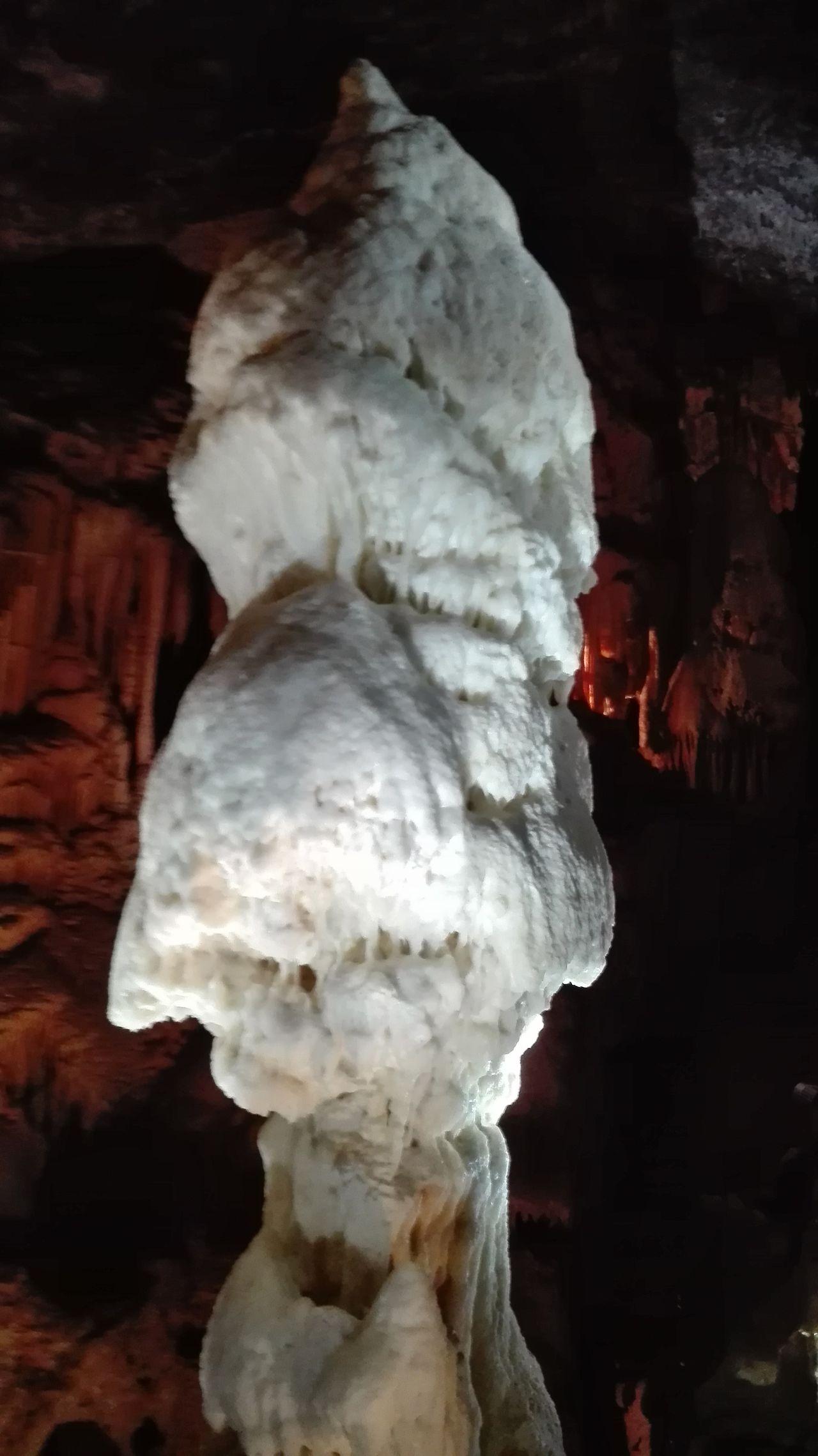 Tropfsteinhöhle Postojna am 15. März 2016 Höhle Stalactites Stalagmites Tropfsteinhöhle