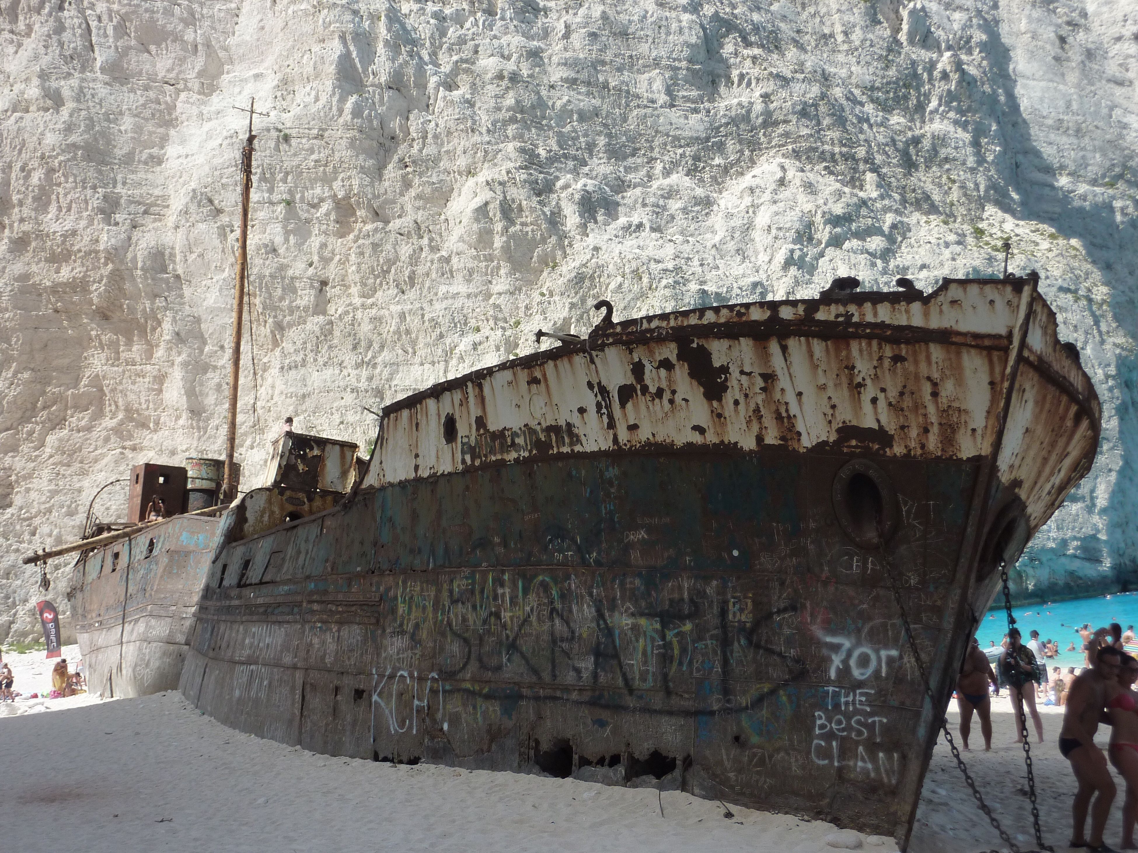 abandoned, desolate, rusty, outdoors, nautical vessel, nature, day, no people, deserted