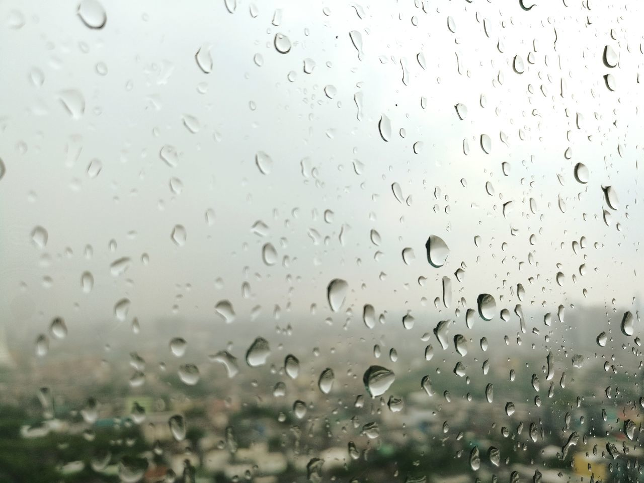 Drop Transparent Window Rain Day Wet Sky No People Nature Full Frame Rainy Season Water RainDrop Backgrounds Close-up Outdoors Drops Of Rain Drops Of Water Rain On Window EyeEmNewHere Daylight True Blue Sad Day Glass_collection Emotions Long Goodbye The Street Photographer - 2017 EyeEm Awards
