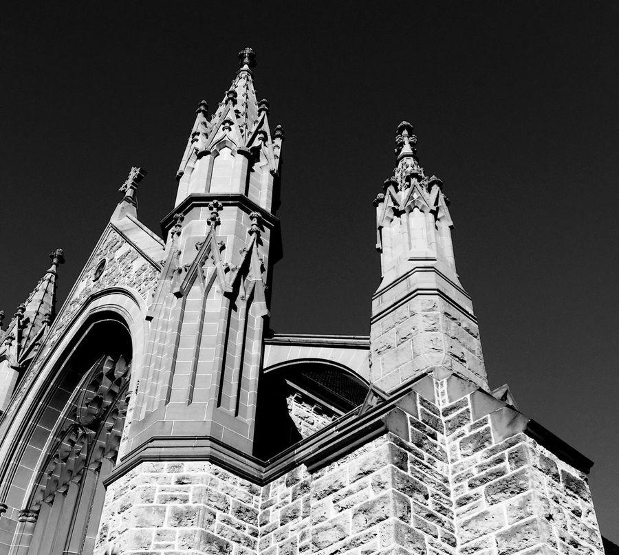 Federation Gothic: St. Patrick's Basilica, Fremantle, Western Australia Church Church Steeple Federation Gothic Gothic Basilica Fremantle ! :) Catholic St. Patrick's Fremantle Steeple Religious  Religious Architecture Religion
