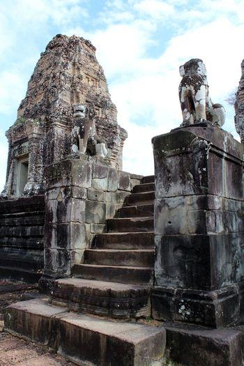 Ancient Civilization Architecture Built Structure East Mebon Outdoors Religion Steps Temple