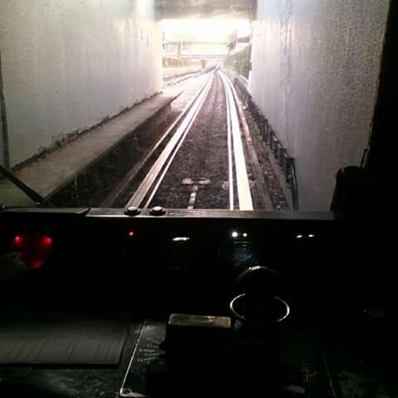 Ahora Dando El Rol en el Metro D.F. Mexico City Subway México Cabina De Mandos Tren Train Vandal