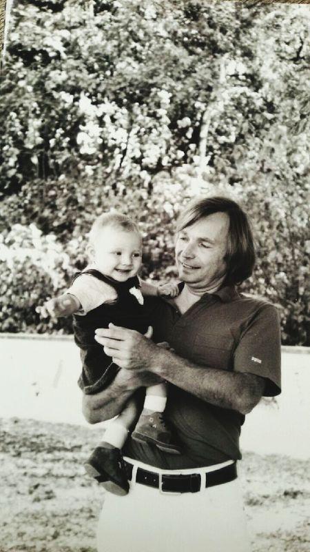 Grandfather 2000 Souvenir D'enfance Love ♥ Black & White