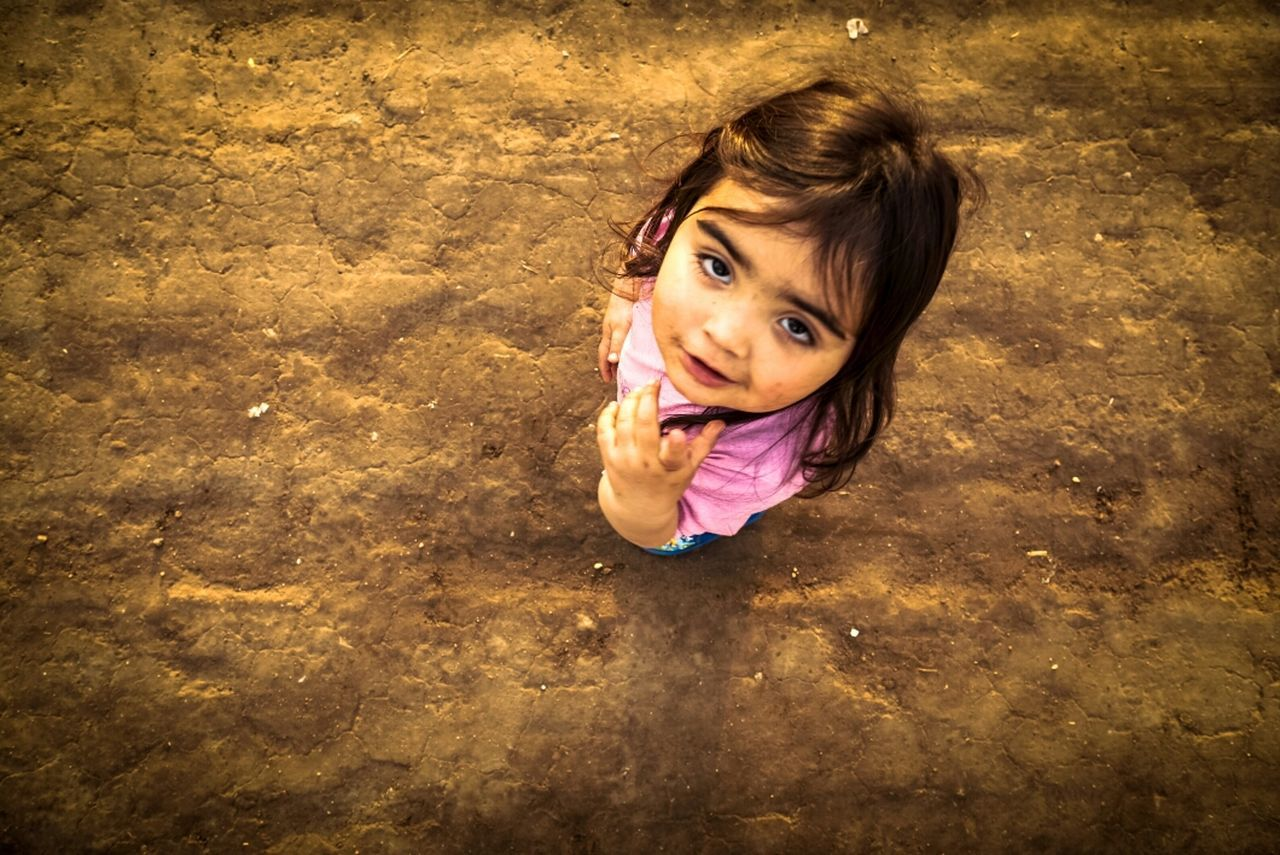Xiomara Children Gilr Portait That Front Camera View