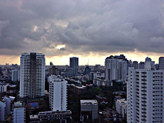 My gloomy morning
