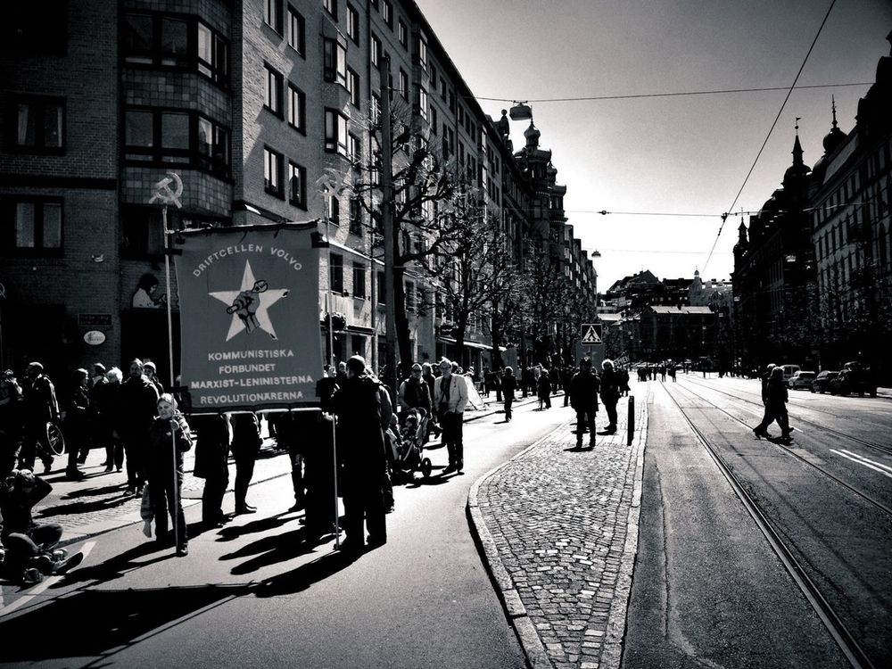 Streetphotography Streetphoto_bw I <3 Gothenburg May 1:st 2013