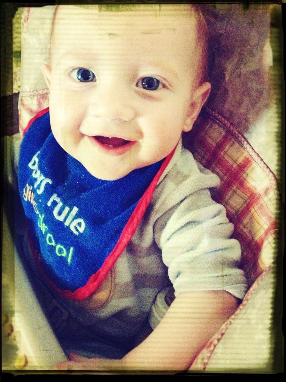 My Favorite Little Man!