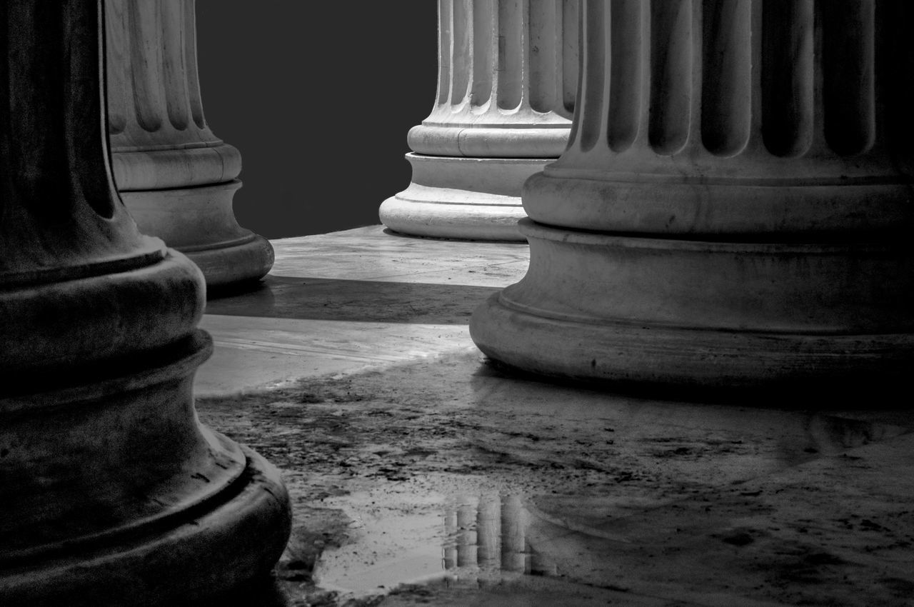 Architectural Column Architecture B&w B&W Collection B&w Photography Best EyeEm Shot Building Exterior Built Structure Close-up Colonnade Exceptional Photographs Eye4black&white  Eye4photograghy Eye4photography  EyeEm Best Shots EyeEmBestPics Government History Zappeion