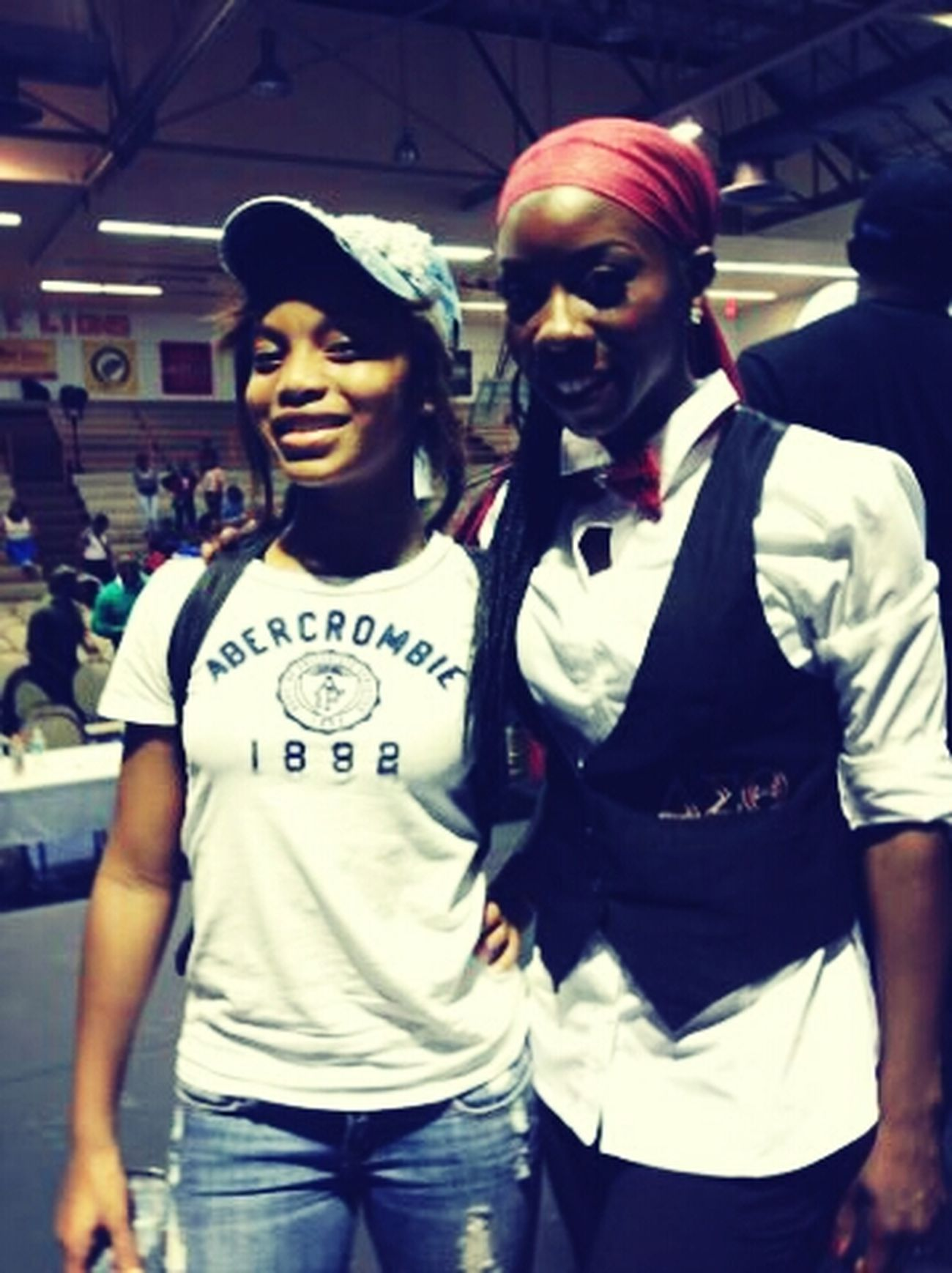 I supportedmy Mama T. Supa BLACKGIRL. Mrs.Young-Byron ♥ツ congrats Delta received 1st place