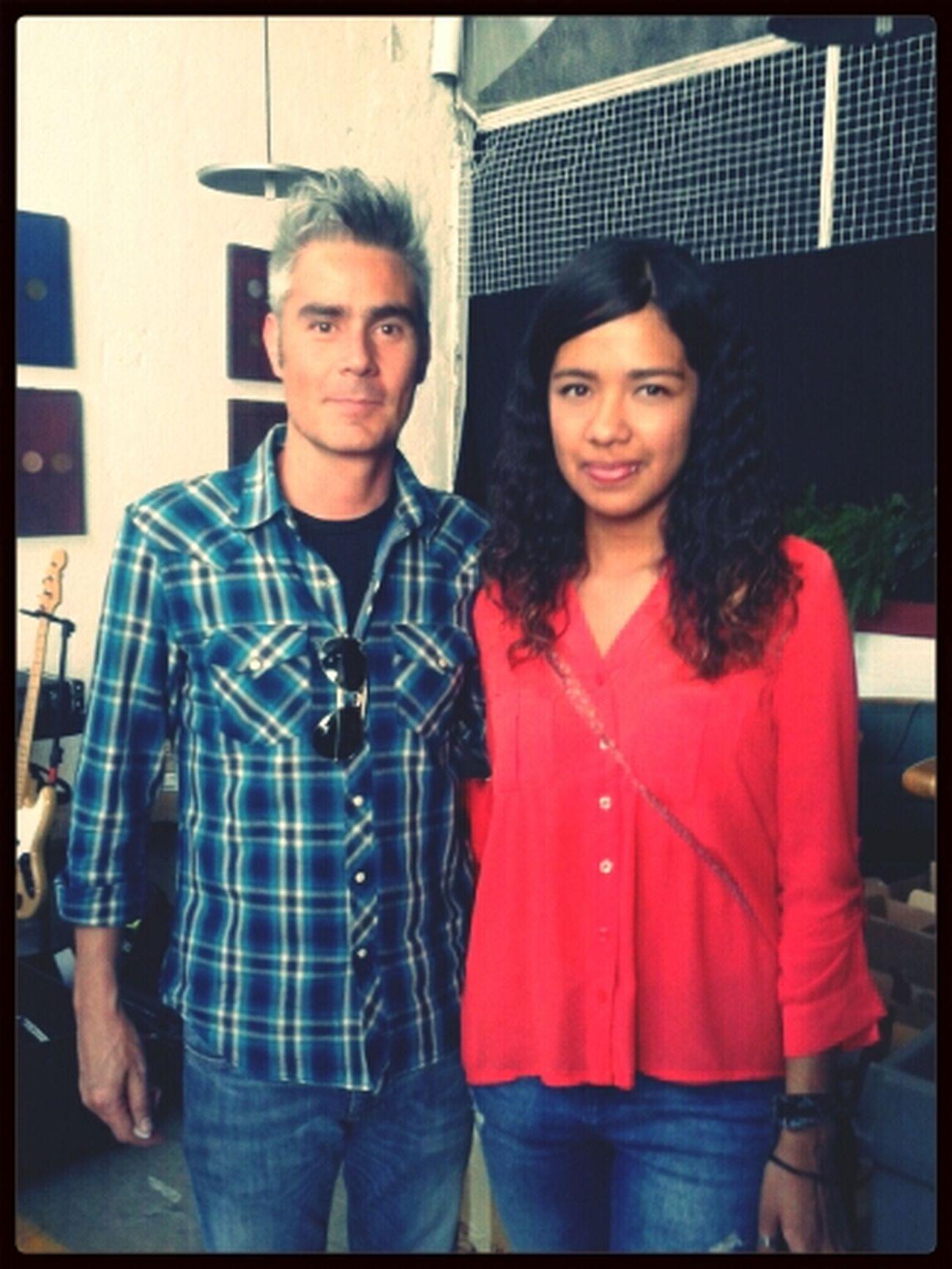 w/ my Crush @Danielgutierrez :'D I finally meet him! ♡