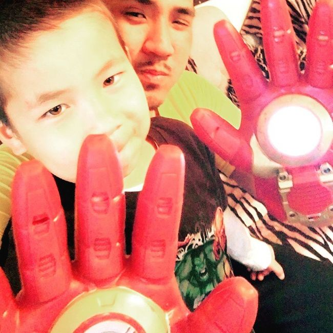 Jetly HERO Familly Laotian Ironman Hulk Avengers Marvel Asianboy Geek Instamoment