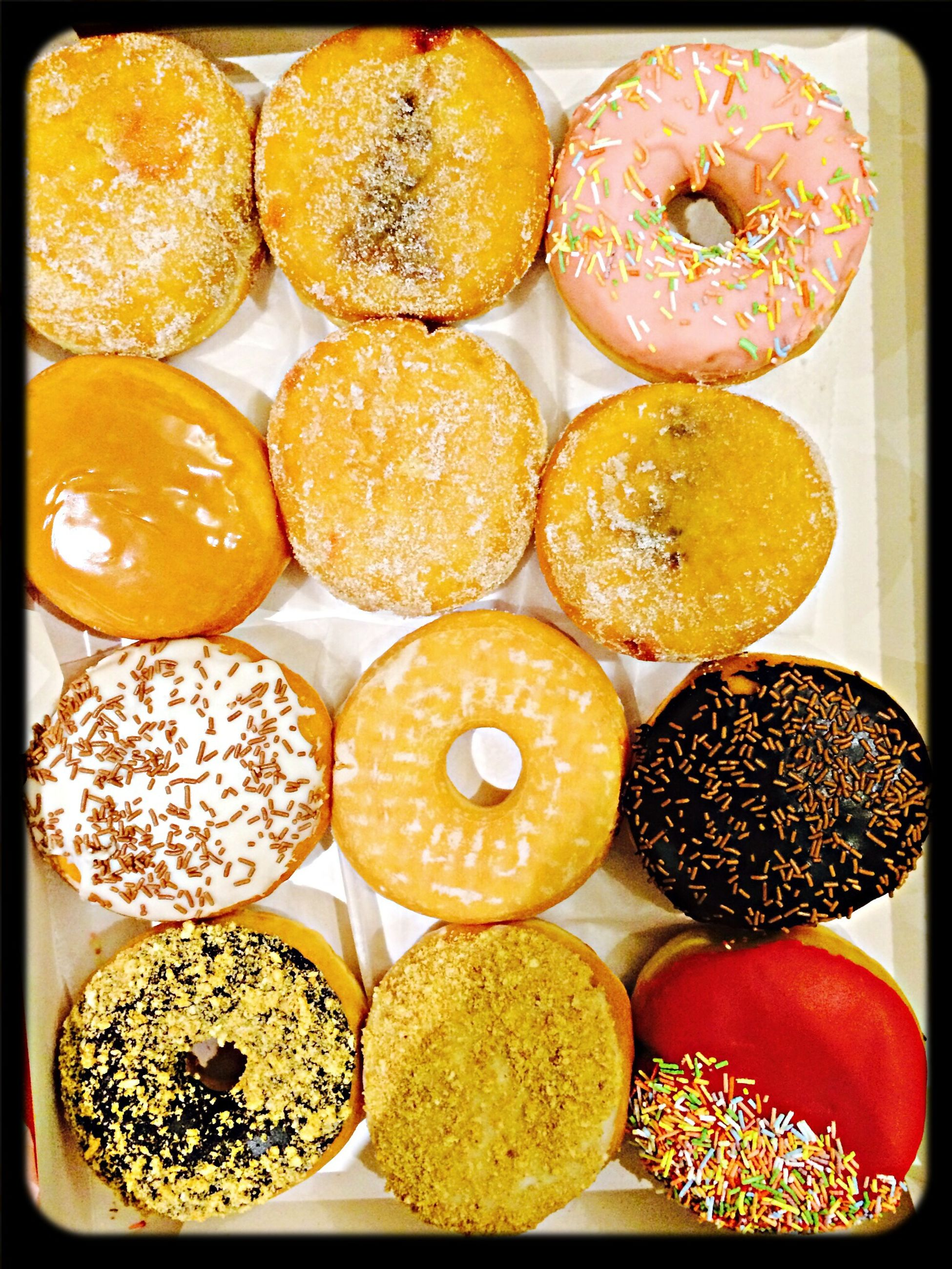Пончики из Dunkin Donuts в Starbuks))