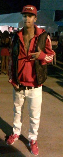 Oldpicture Chris Brown Concert Adidas Reds