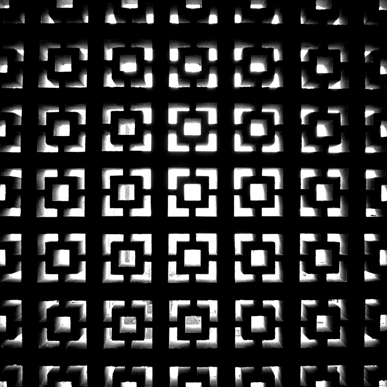 Abstract Backgrounds Blackandwhite Close-up Contrast Day Full Frame Geometric Shape Geometry Metal Grate No People Outdoors Pattern Pixelated Repetition Seamless Pattern Technology Textured