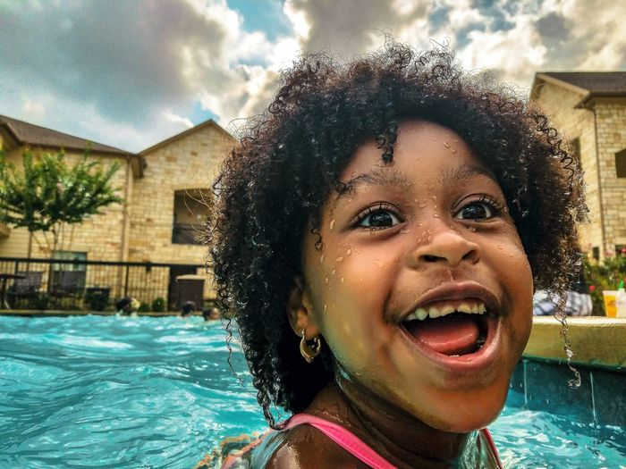 Swimming Pool Portrait Outdoors Happiness Canon Houston The Great Outdoors - 2017 EyeEm Awards EyeEmNewHere The Street Photographer - 2017 EyeEm Awards Houston_photographers Heatercentral Moodygrams Visualambassadors Live For The Story Pursuit Of Portriats Summer