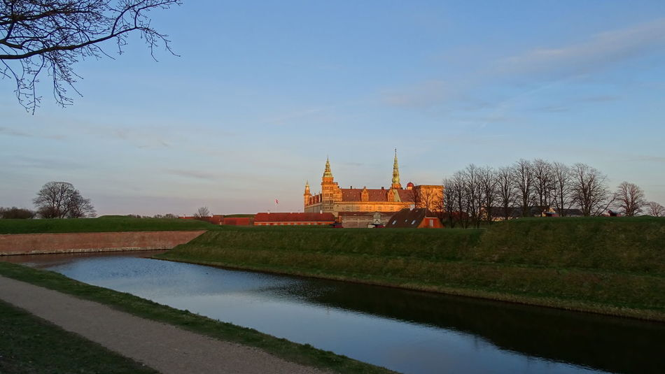 Afternoon Castle Denmark Kronborg Castle No People Outdoors Sky Sky And Clouds