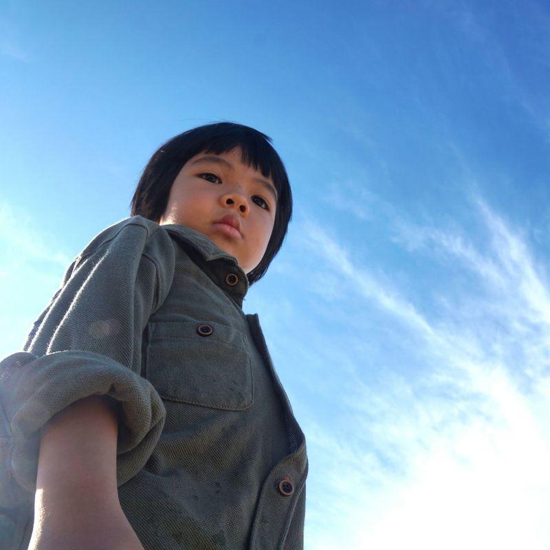 My little sunshine!! The Week On EyeEm This Week On Eyeem Summer 2015 Littel Boy , Kidsphotography Blue Sky Cloud_collection
